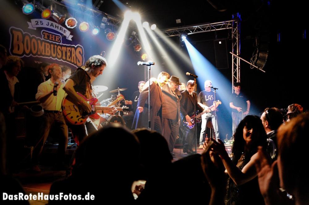 Boombusters @ Hüttenwerk Michelstadt, 27.02.2010