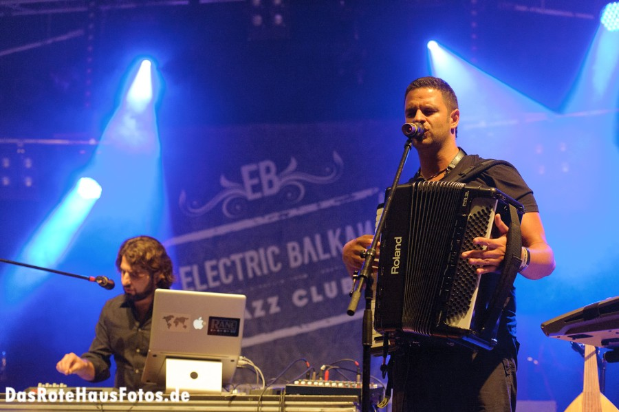 Electric Balkan Jazz Club @ Sound of the Forest 2011