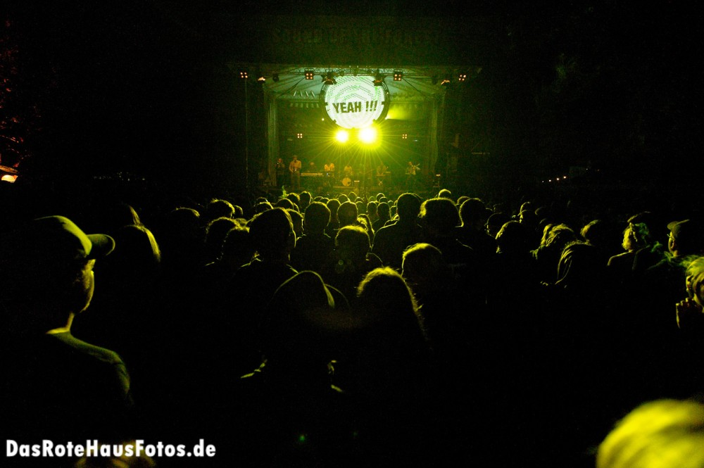 Sound of the Forest Bühne Yeah