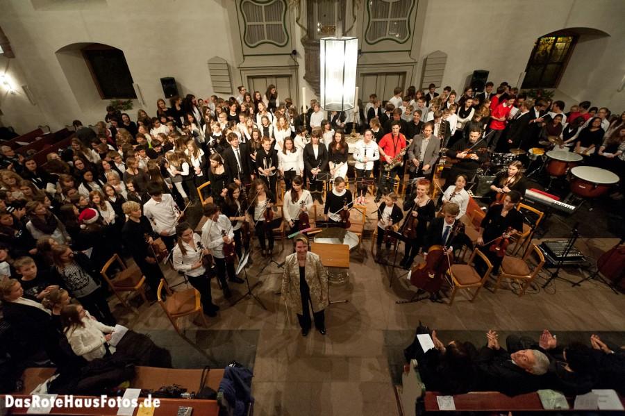 2012-12-04 Konzert Gymi Kirche Erbach